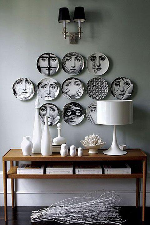 fornasetti ideas decoracion paredes con platos
