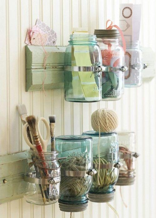 mason jars contenedores almacenaje ideas diy