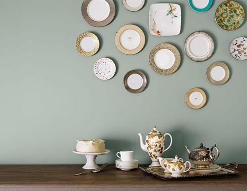 platos decorativos paredes ideas ceramica