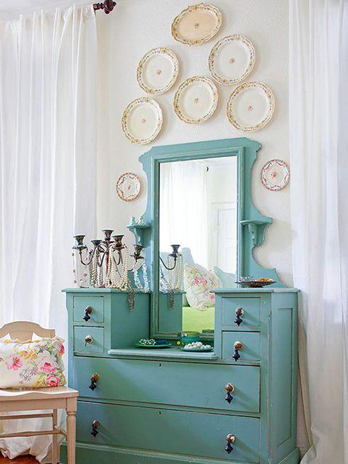 platos paredes decoracion ideas interiorismo
