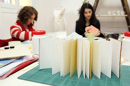 taller encuadernacion fabrica de texturas diy madrid