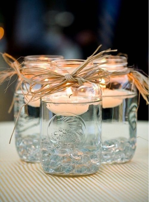 velas ideas diy mason jars decoracion