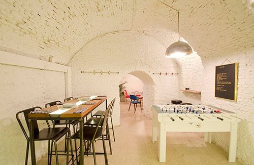 bar la musa la latina restaurante sotano madrid