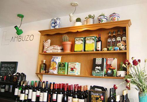 bar lambuzo madrid cocina andaluza tapas restaurante conchas