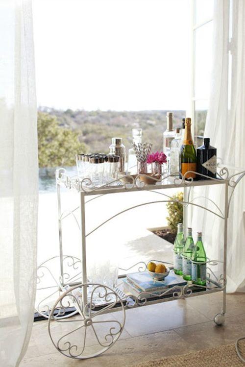 camarera carrito auxiliar mueble bar ideas decoracion almacenaje