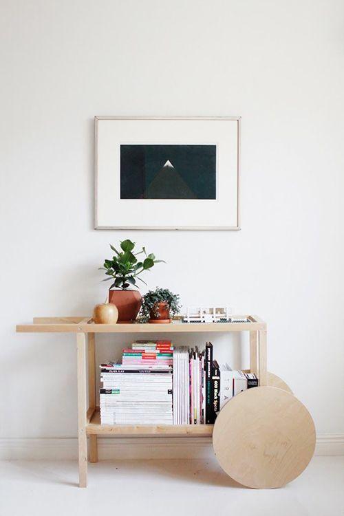 camarera madera minimalista ideas decoracion