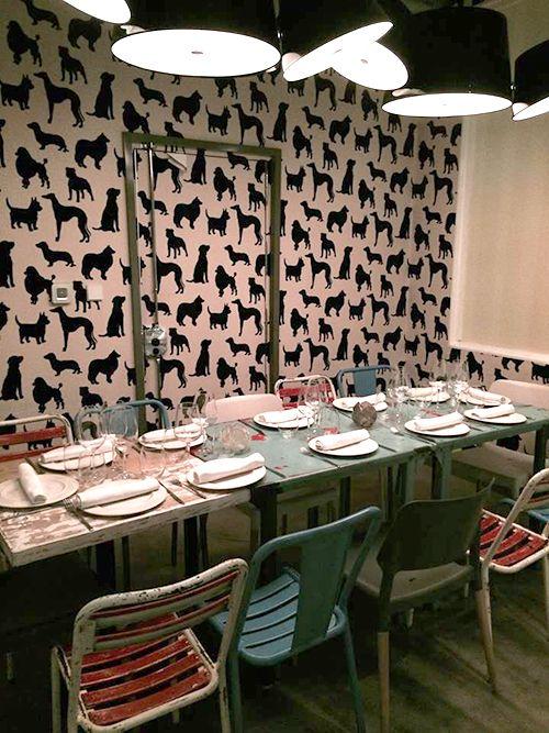 interior decoracion canina perrito faldero restaurante madrid