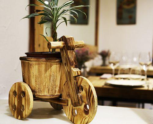 triciclo maceta restaurante madrid