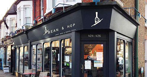Cerveza artesanal y café en la londinense Bean&Hop