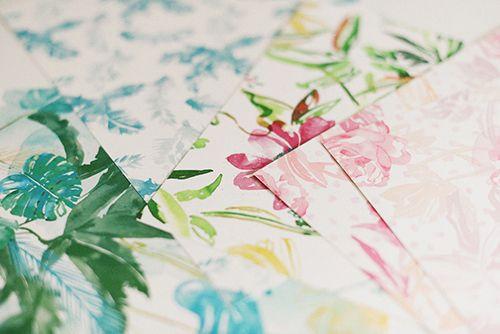 coordonne papel pintado lara costafreda ilustradora