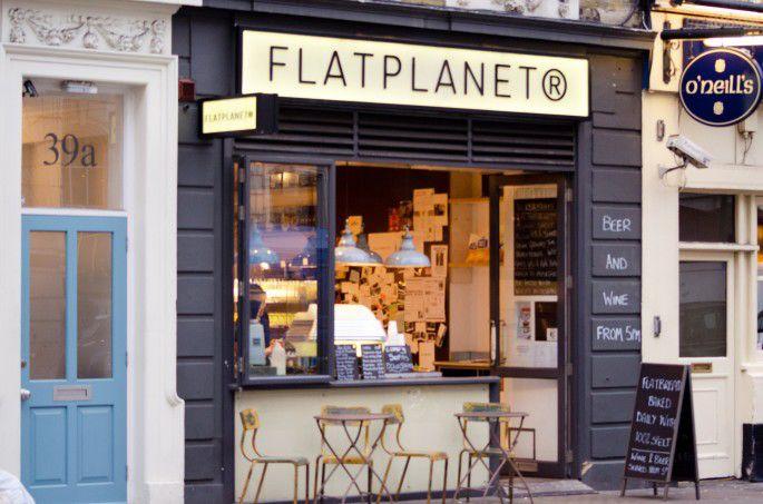 FlatPlanet, un working café en el Soho de Londres