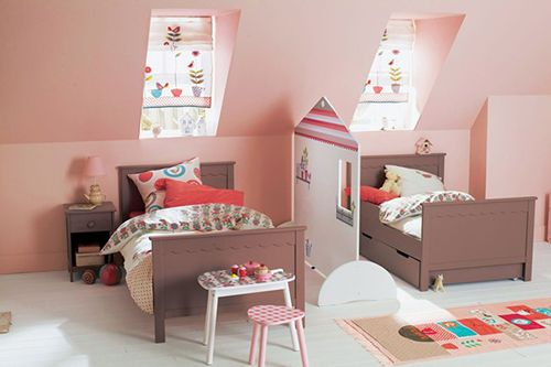 habitacion infantil doble ideas decoracion compartir niños