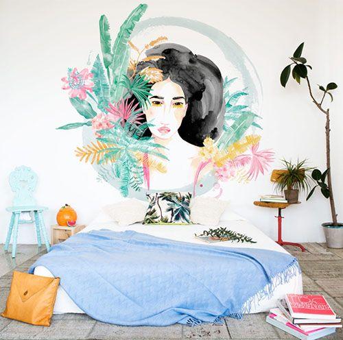 lara costafreda coordonne papel pintado decoracion