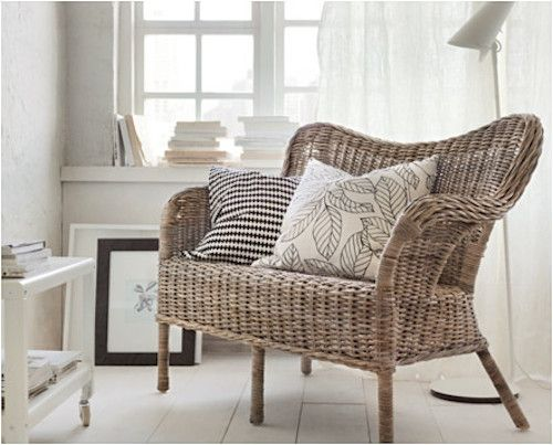 sofa coleccion ikea nipprig decoracion bambu tendencia sillas muebles