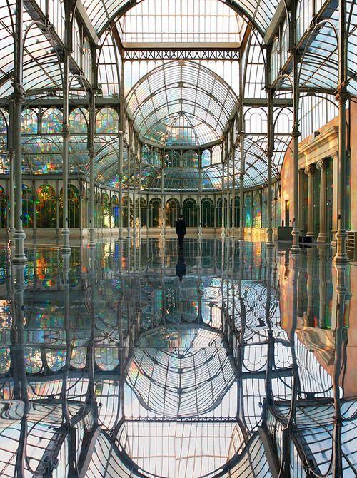Lugares con encanto: Palacio de cristal de Madrid