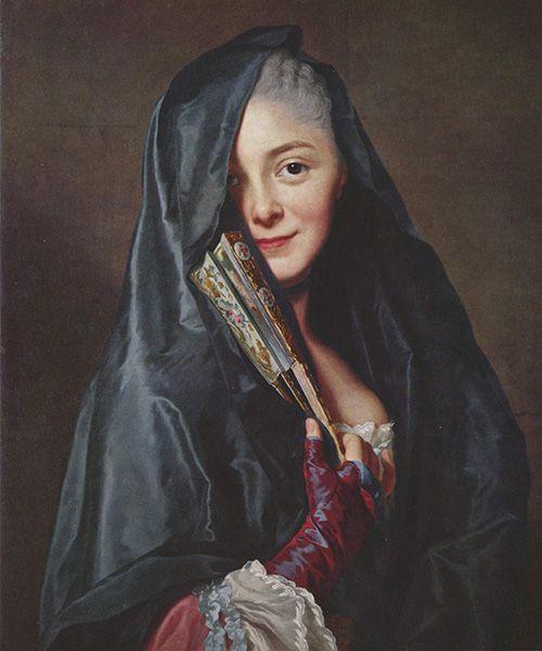 alexander roslin dama con mantilla arte museo nacional de estocolmo suecia