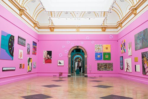 exhibicion instalacion arte royal academy of arts londres