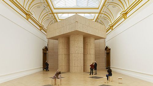 instalacion arte royal academy of arts londres