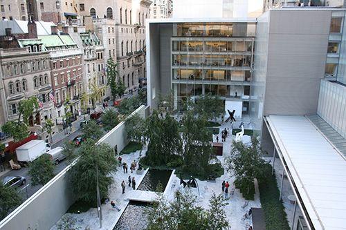 moma patio de las esculturas museo arte moderno nueva york