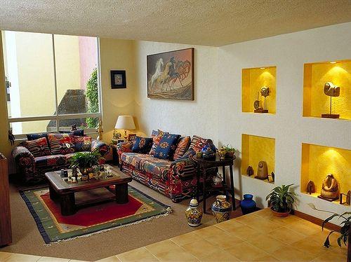 estancia de estilo mexicano
