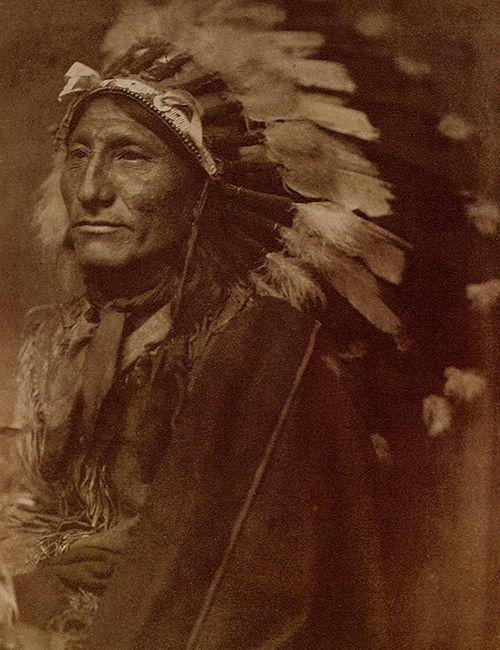 indian chief gertrude kasebier fotografia retrato