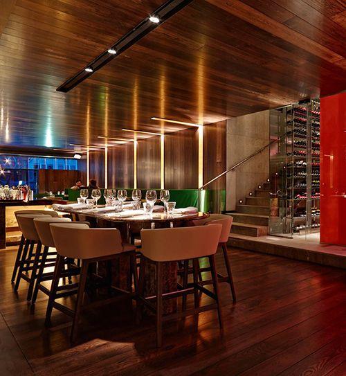 interior restaurante the hall madrid