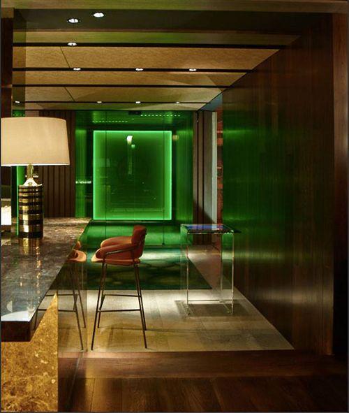 lobby barra the hall bar restaurante madrid