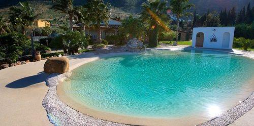 piscina de arena