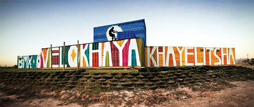 boa mistura sudafrica arte urbano social
