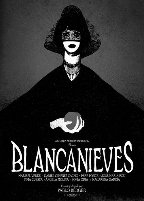 cartel blancanieves pelicula ilustracion conrad roset