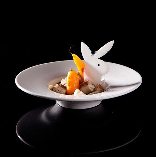 conejo tapa restaurante a fuego negro san sebastian