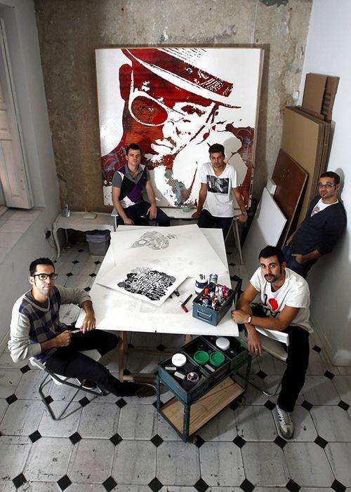 estudio boa mistura madrid artistas urbanos