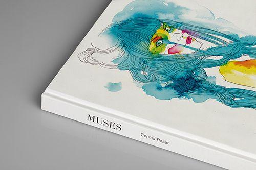 musas conrad roset libro norma editorial ilustraciones