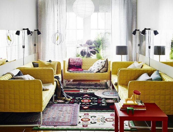 alfombras encima de otras