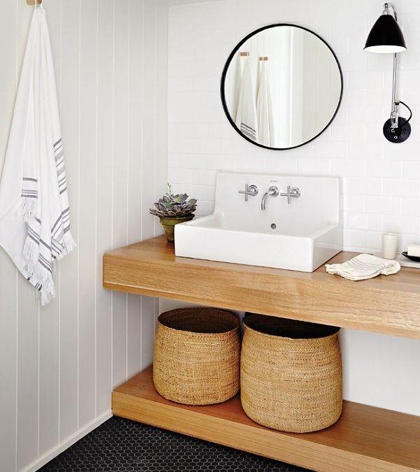 Ideas de tocadores para decorar nuestro baño