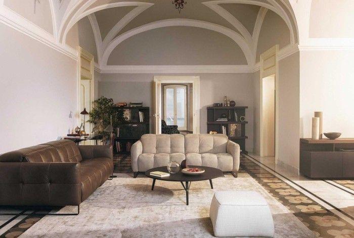 salon con sofas natuzzi