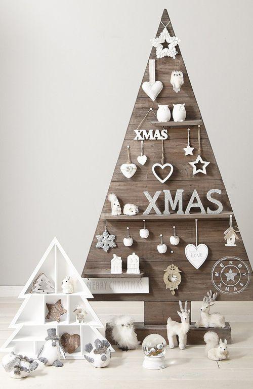 arboles de navidad ideas madera 7