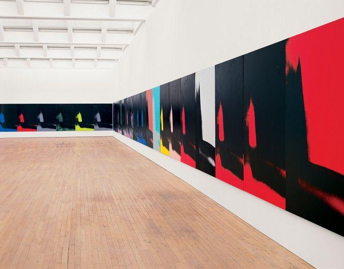 obra de andy warhol exposicion shadows en el guggenheim de bilbao 2