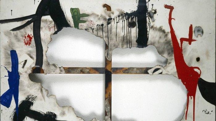 antipintura miro esposicion miro y el objeto madrid caixaforum obras