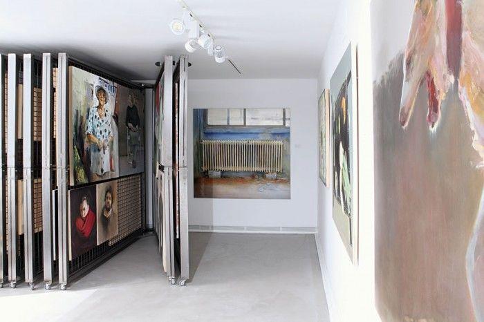 paneles galeria de artefernandez hurtado art gallery en segovia