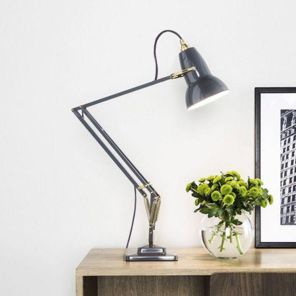 lampara anglepoise george carwardine flexo pixar color gris lacado sobremesa