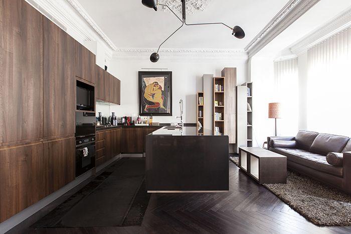 cocina piso chueca
