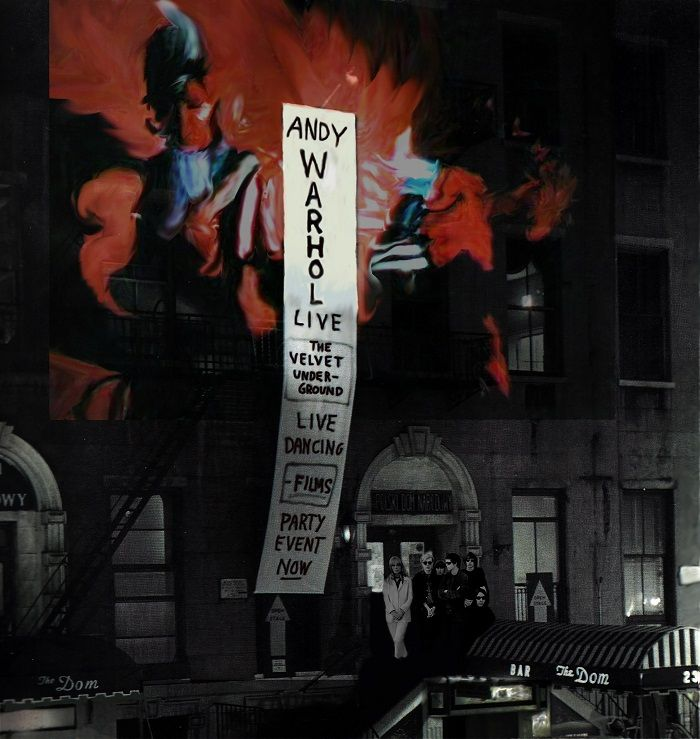 andy warhol the velvet underground cartel evento exploding plastic inevitable