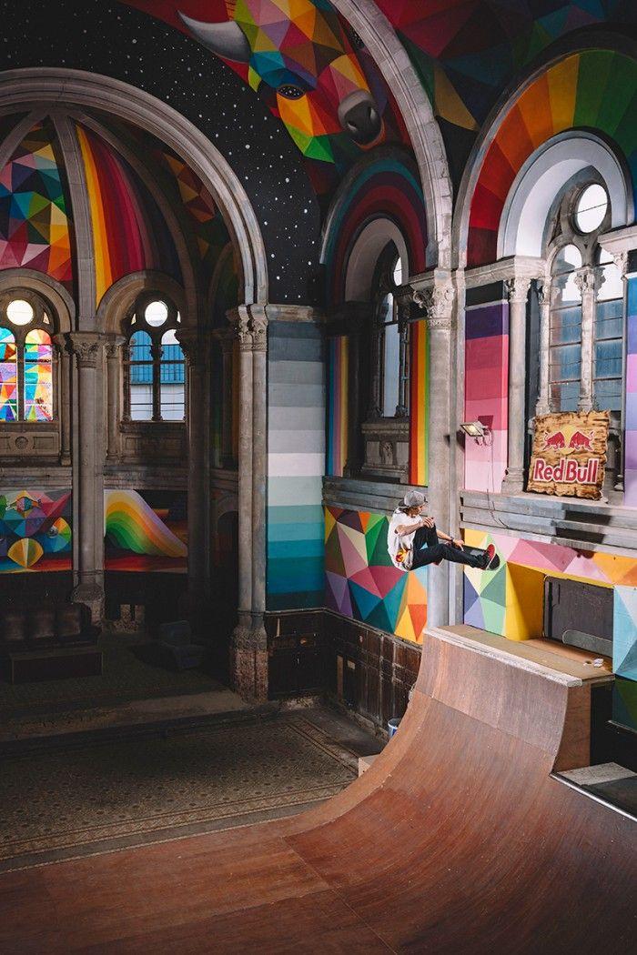 kaos-temple-okuda-san-miguel-la-iglesia-skate llanera asturias street art mural
