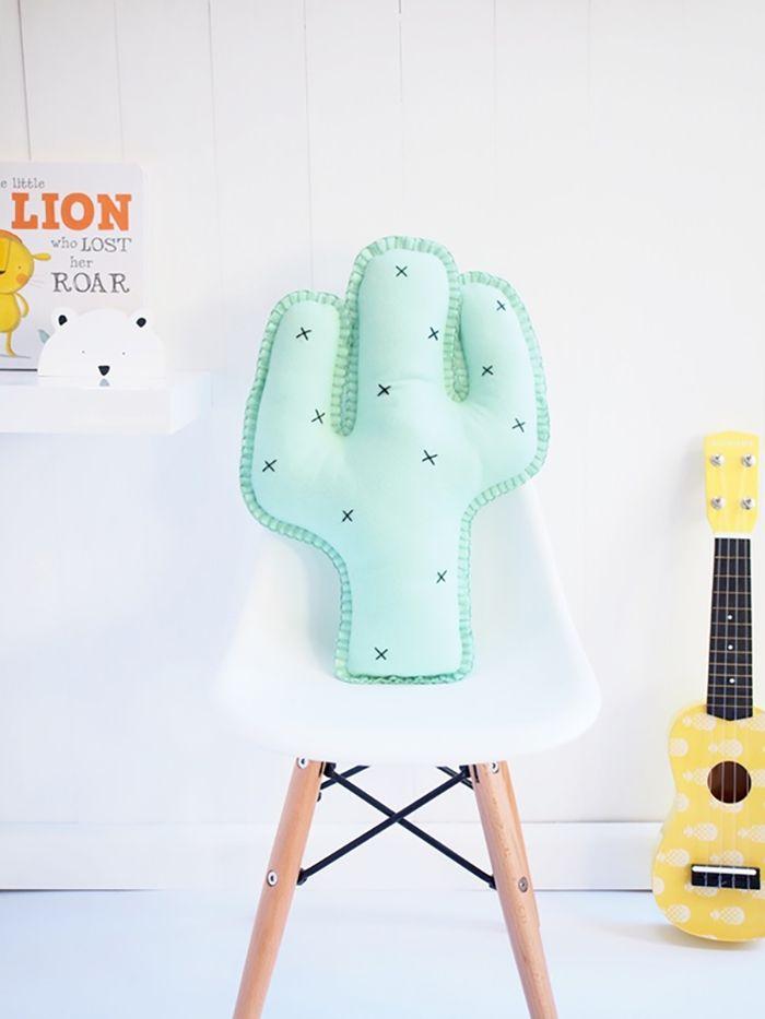 cojín cactus