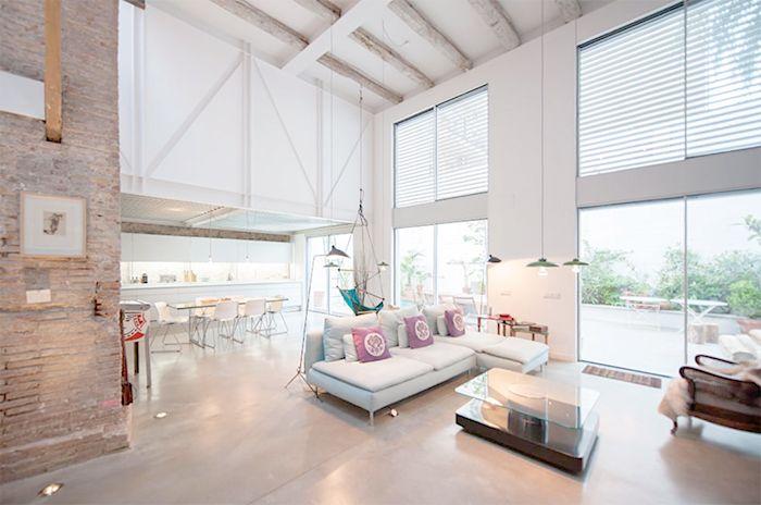 lluis corbella salon moderno abierto