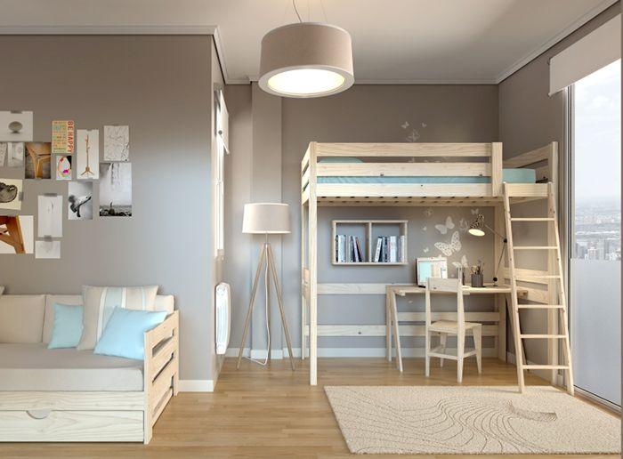 litera lufe muebles madera