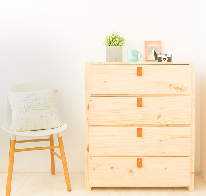 muebles lufe madera comoda