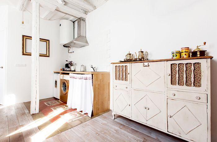 cocina piso malasaña restauracion