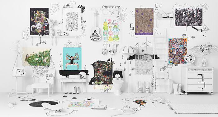 ART EVENT: la nueva colección de IKEA de arte e ilustración asequibles